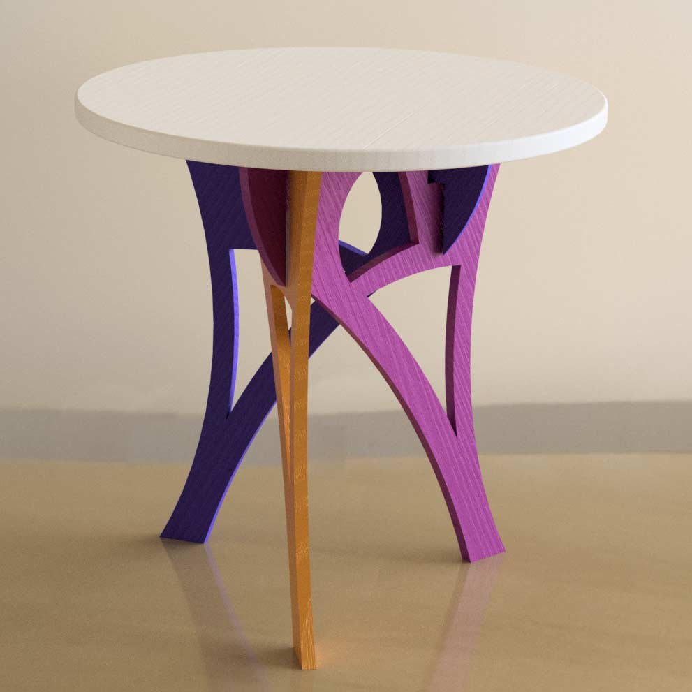 Mobilier Table Voûte
