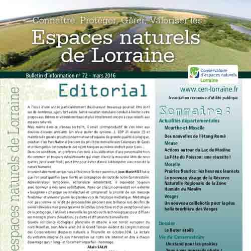 Bulletin 72 CEN Lorraine