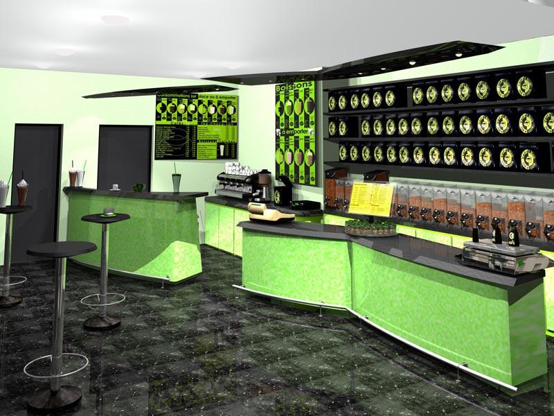 Retail Store Design - Magasin Espace de vente