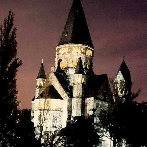 Scénographie Urbaine - Mise en valeur du patrimoine architectural - Metz
